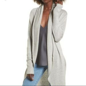 Leith gray cardigan